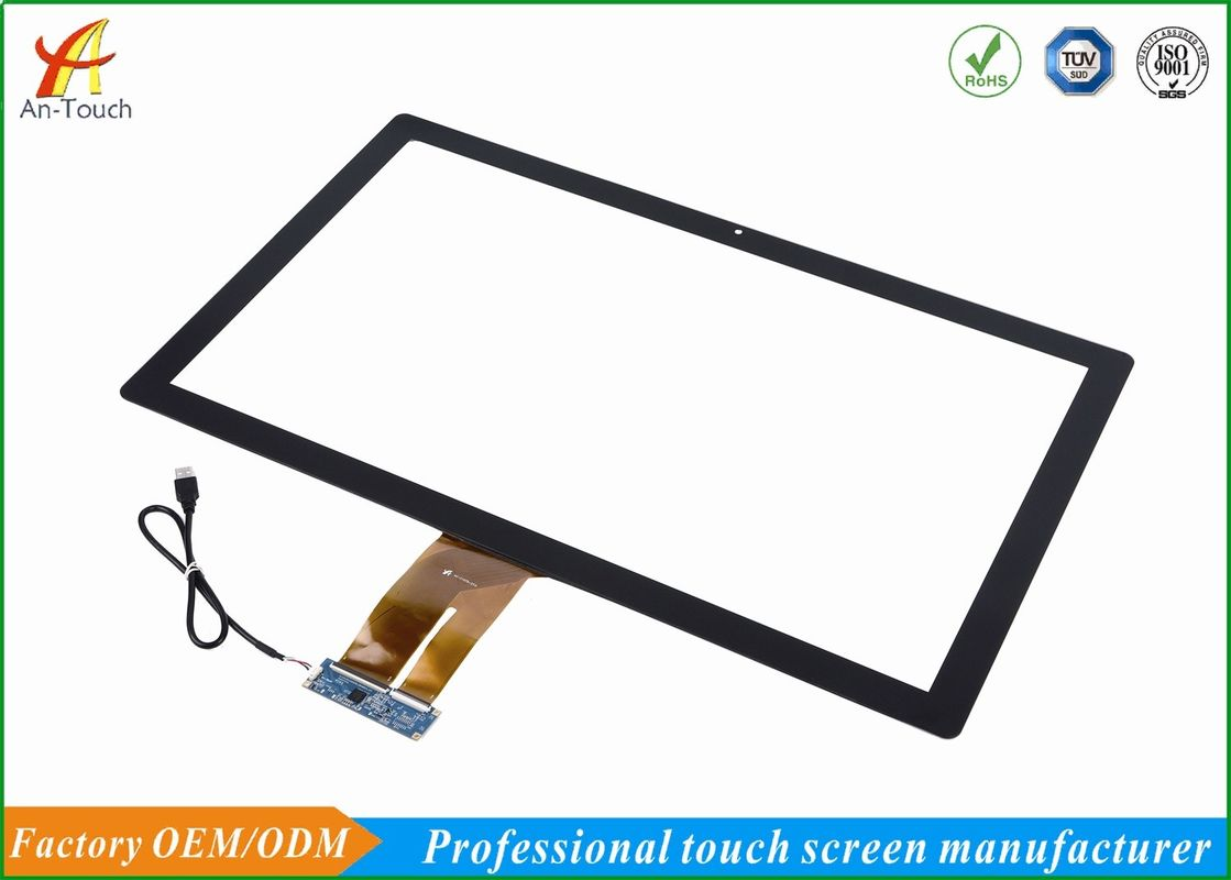 Industrial Projected Capacitive Touch Panel , 27 Touch Screen Display Anti Collision