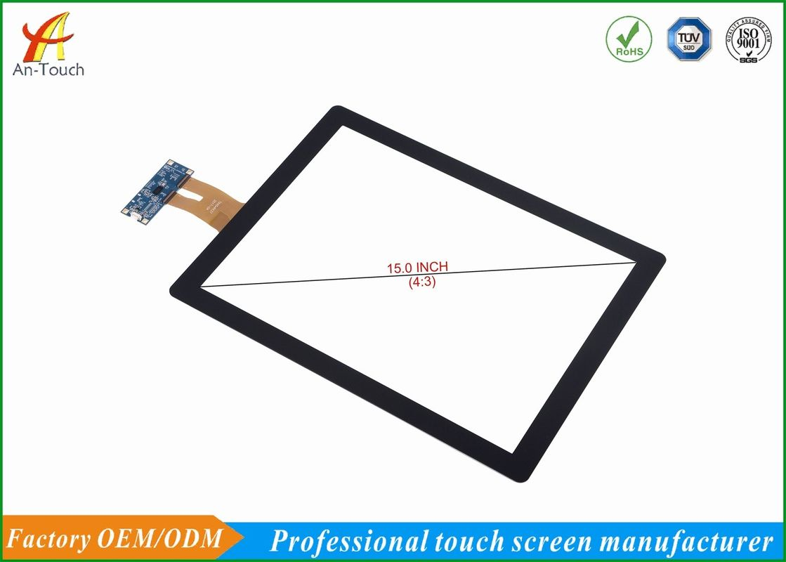15 Inch Multi Large Touch Panel Flat Panel For Interactive Touch Screen Table