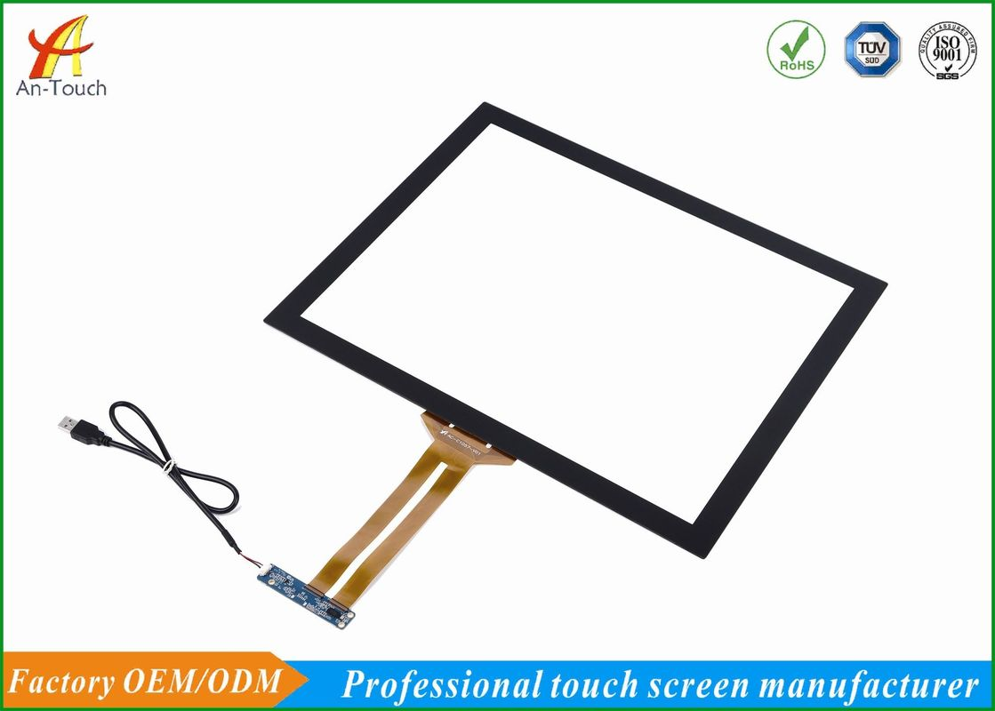 Highly Sensitive Capacitive Touchscreens Overlay Kit 86% Min Transmittance