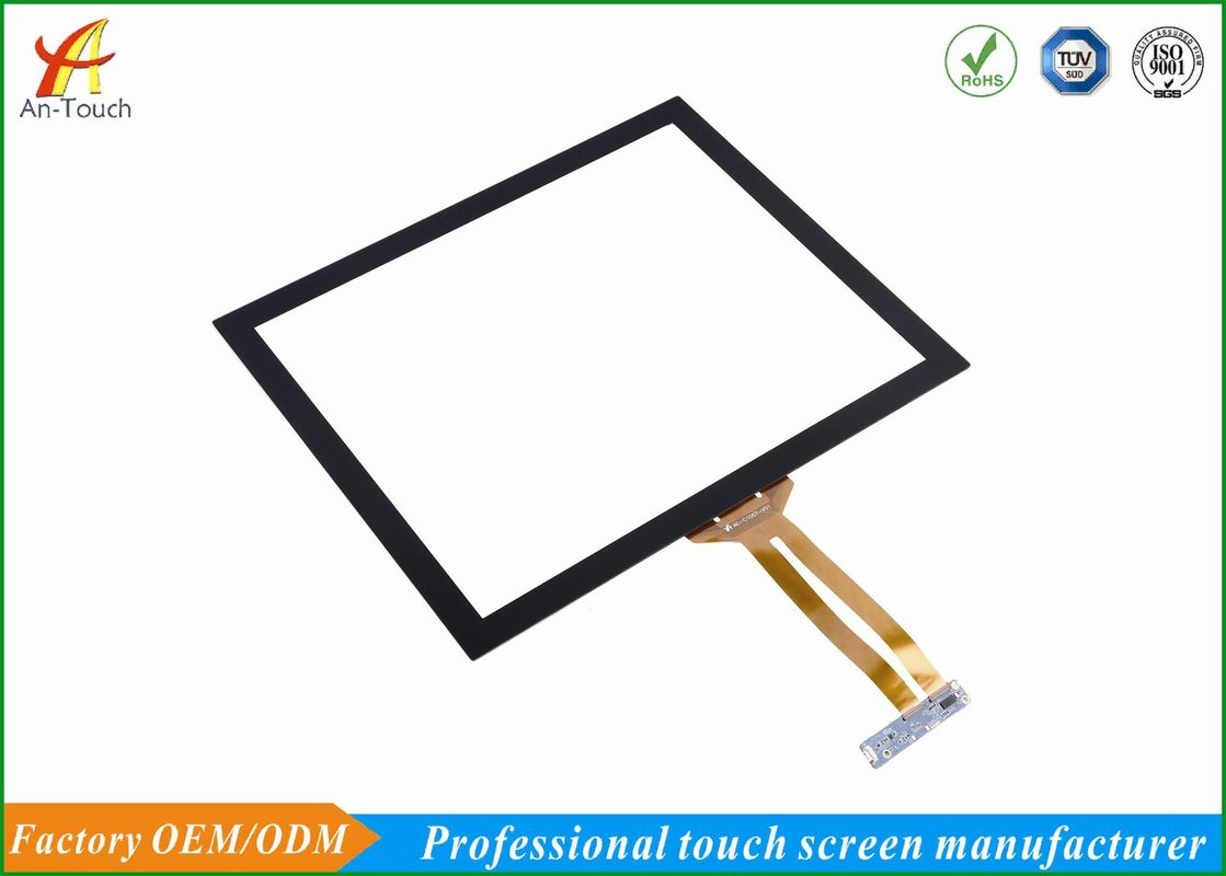 Fast Response Transparent Touch Panel , 19 Inch Touch Screen For Vending Machine