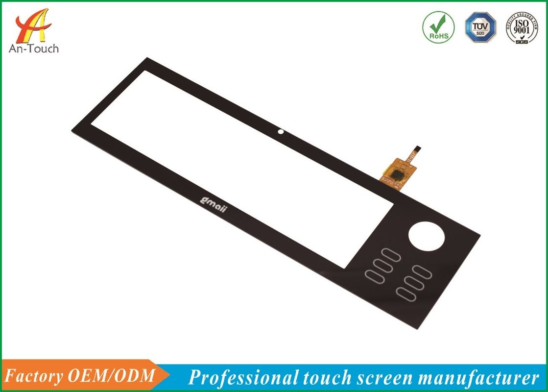2 Mm Cover Lens Smart Home Touch Panel 8 Inch With I2C Interface , 1-5 Touch Points