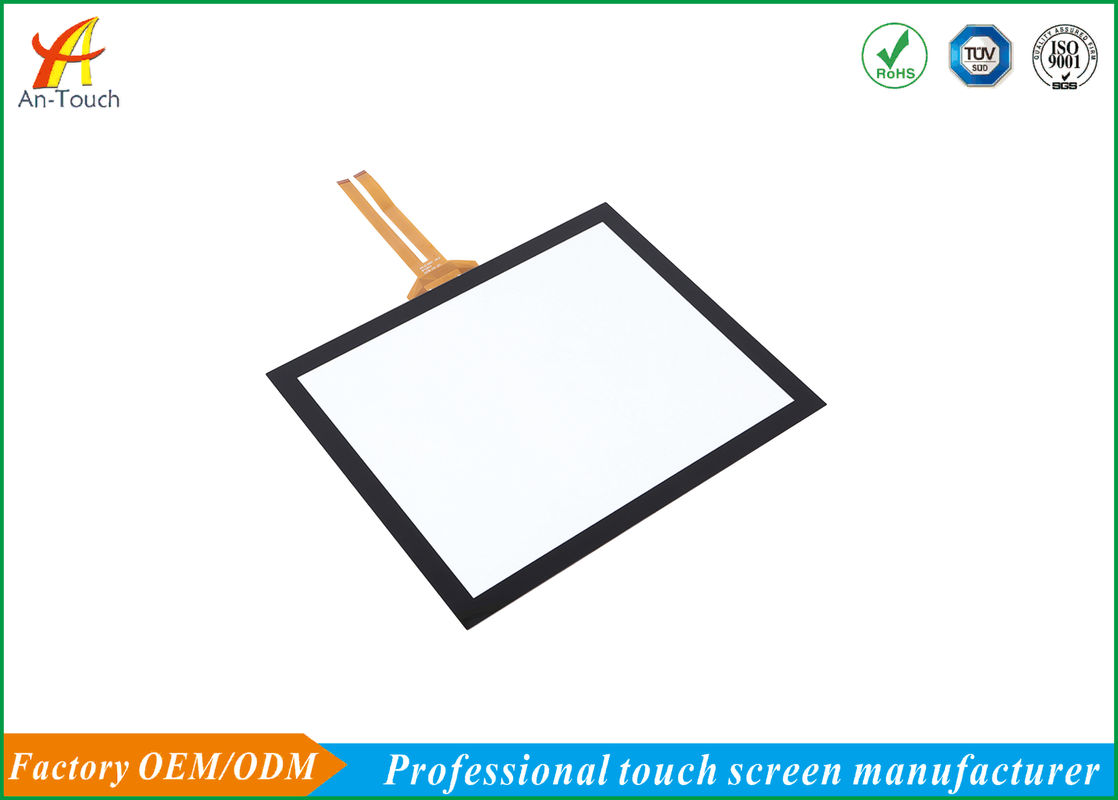 Thin Multi Touch Panel Capacitive / Scratch Proof Tft Touch Screen