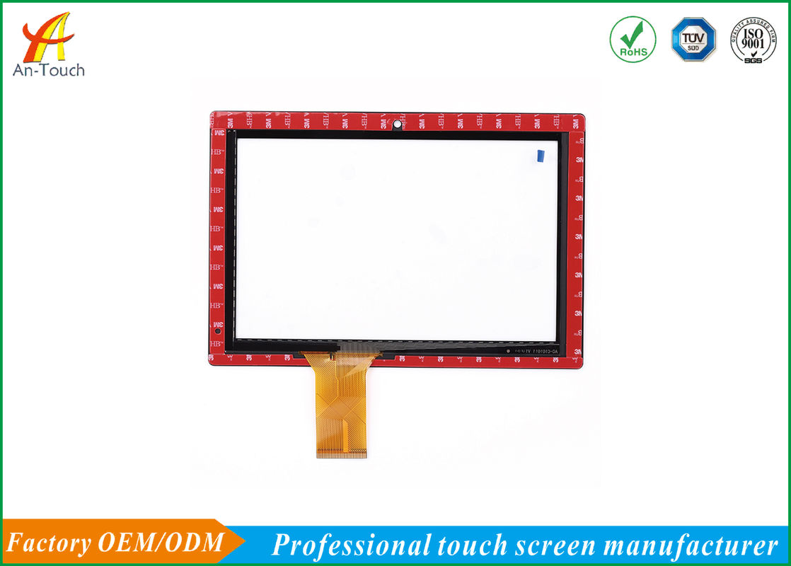 Custom Made Industrial Hmi Touch Panel / Thin Industrial Touch Screen